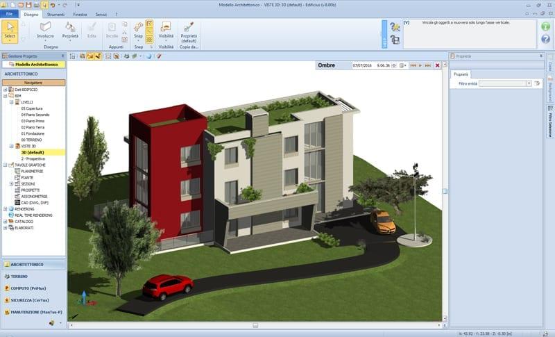 Edificius modelo arquitectónico 1