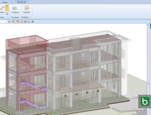 diseño arquitectónico y cálculo estructural Edificius EdiLus