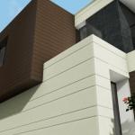 Detalle externo Country House en Marfino