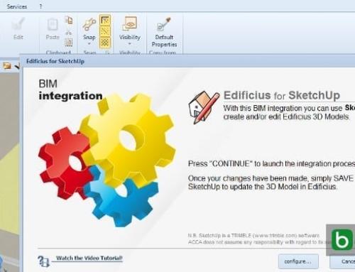 Cómo insertar los objetos 3D creados con SketchUp en un software BIM