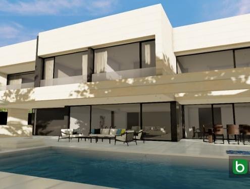Diseñar casa y jardín con un software BIM Edificius