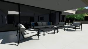 Patio - Park House - Edificius