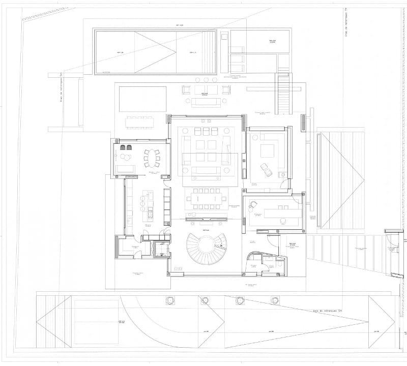 Planta baja - Park House -