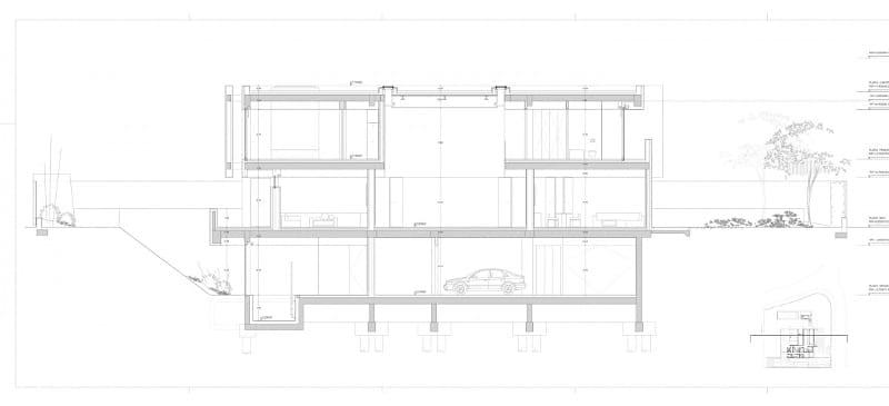 Sección - Park House -