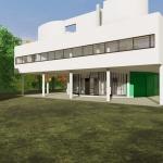 Entrada Villa Savoye - Le Corbusier