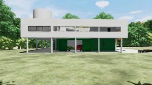 Garaje Villa Savoye - Le Corbusier