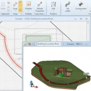Modelar una calle con un software BIM Edificius