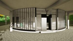 Entrada - Villa Savoye -