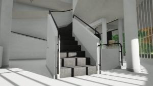 Escalera interna - Villa Savoye -