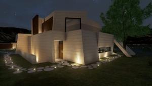 Lado posterior - Marble y Bamboo - Edificius