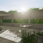 Terraza - Villa Savoye -