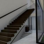 Escalera Marble y Bamboo