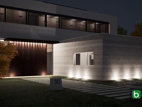 Diseñar y colocar los puntos de luz software BIM Edificius