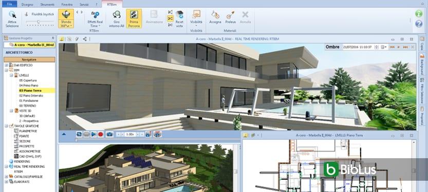 Building Information Modeling en la fase de diseño Edificius