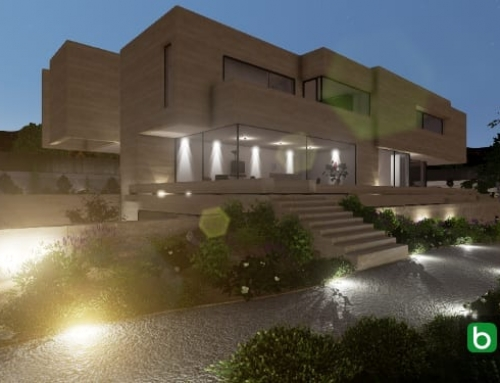 Ejemplo de diseño con un software BIM para arquitectura