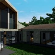 diseñar una residencia unifamiliar con un software BIM Edificius