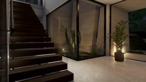 Rampa escalera Marble y Bamboo