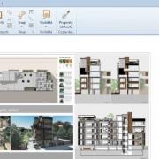 Modificar un diseño y obtener la actualización dinámica de todas las vistas del modelo Edificius