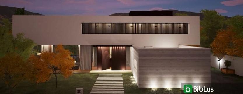 Iluminación exterior: cómo diseñarla utilizando un software BIM Edificius
