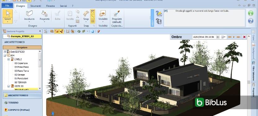 Configurar las vistas del modelo para realizar un render arquitectónico Edificius
