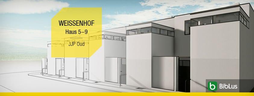 Casas adosadas proyectos y ejemplos con plantas, planos y disenos incluso en dwg_Haus 5-9-JJP Oud