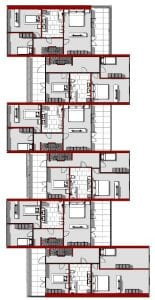 Water Villa – planta primer piso