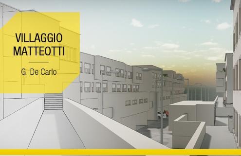 Casas en linea famosas arquitectura y proyectos para descargar_Villaggio Matteotti-De Carlo_software BIM Edificius