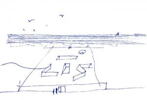 Casa del infinito – boceto de Alberto Campo Baeza
