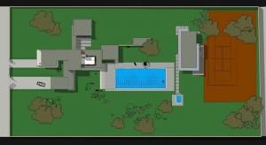 Vivienda-unifamiliar-Casa-Kaufmann-planimetría-software-BIM-Edificius
