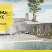 Vivienda unifamiliar definicion arquitectura y proyectos para descargar-software-BIM-Edificius-Kaufmann House-Richard Neutra