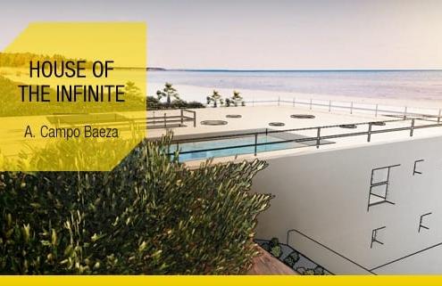 Viviendas unifamiliares modernas ejemplos y proyectos para descargar_House of the Infinite-Campo Baeza-software-BIM-Edificius