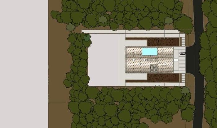 Casa del infinito – planimetría