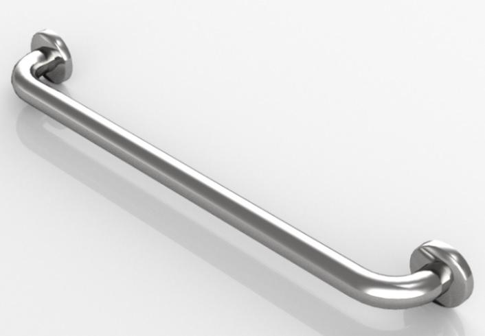 Barra de baños para discapacitados fija Hewi - 8085.36.130 - Librería de objetos BIM Edificius