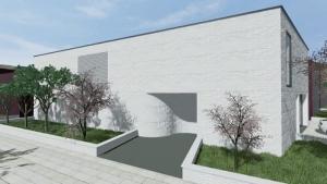 viviendas unifamiliares-Entrada-Casa-Kwantes-software-Edificius