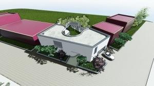 viviendas unifamiliares-render-Posterior-Casa-Kwantes-software-Edificius