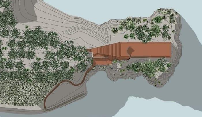 Casa-Malaparte-planimetría-software-BIM-Arquitectura_Edificius