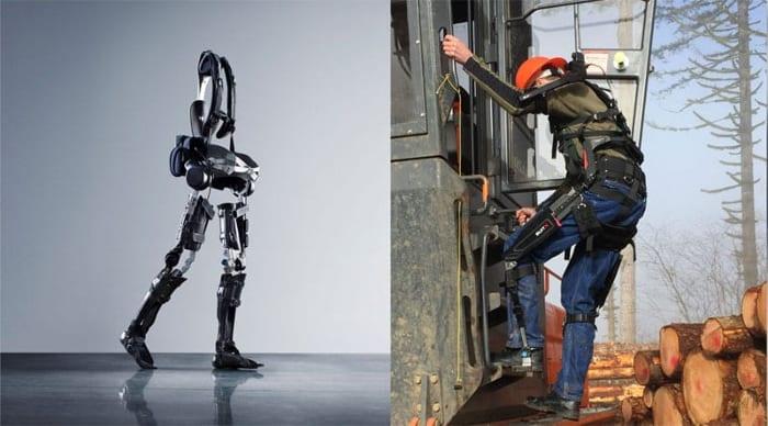 Exoesqueletos construcción