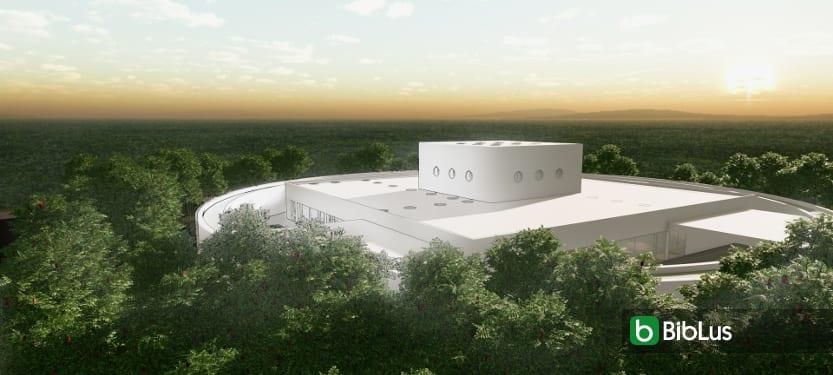 Progettazione di un centro per l'infanzia con modello 3D BIM e disegni dwg da scaricare Software BIM Architettura Edificius