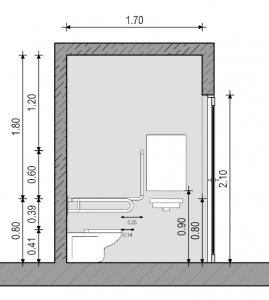 Baño para discapacitados - Normativa Mexicana - Sección Edificius