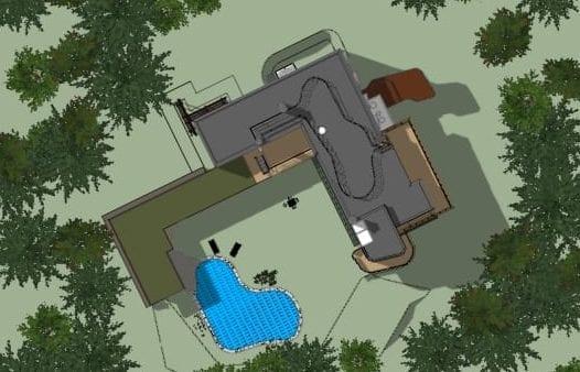 Villa Mairea - Planimetría - software BIM Edificius
