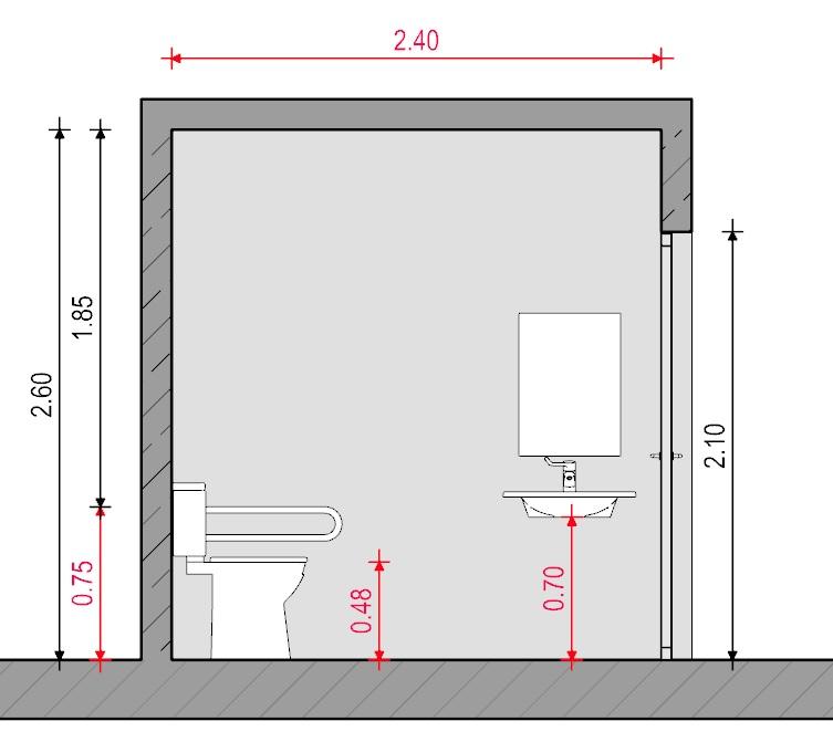 Baño para discapacitados - Normativa Chilena - Sección ...