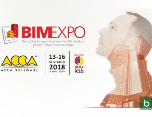 ACCA software te invita a BIMEXPO en MADRID del 13 al 16 de noviembre