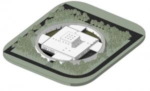 Diseño-Guardería-infantil_Axonometria_Ponzano-Children_software-BIM-arquitectura-Edificius