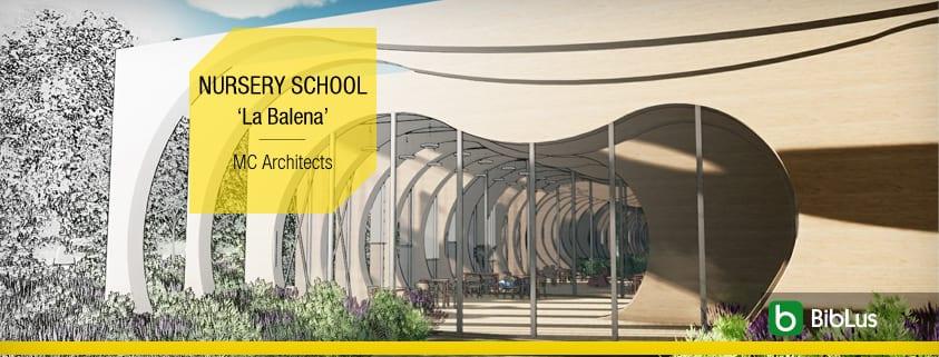 Proyectos de construccion de escuelas con dwg para descargar-NURSERY SCHOOL_La-Balena_MC-Architects