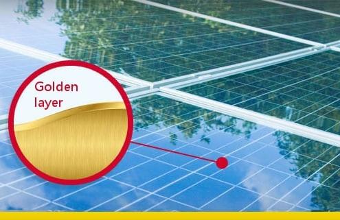 El panel solar en grado de producir hidrógeno