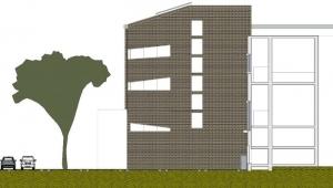 Alzado_arquitectura-de-bibliotecas_ software BIM arquitectura-Edificius