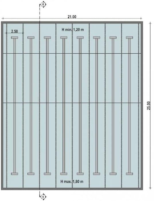 Arquitectura-de-piscinas-piscina-semi-olimpica-planta-software-BIM-arquitectura-Edificius