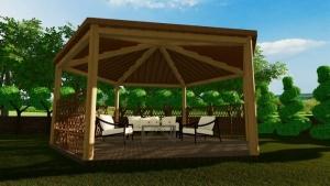 Diseño-de-pérgolas-render-gazebo-software-BIM-arquitectura-Edificius