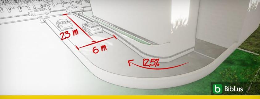 Diseno de la rampa garaje la guia completa con esquemas caracteristicas constructivas video y ejemplo para descargar_software-bim-edificius