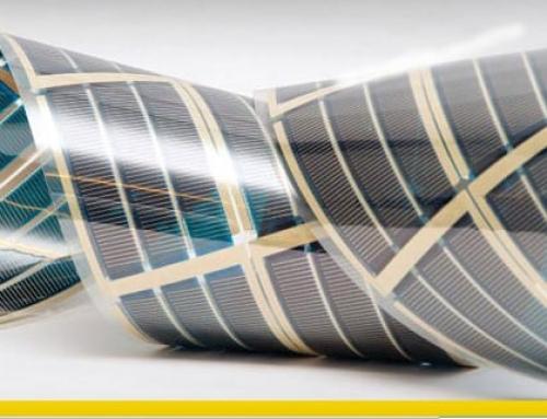 Panel solar fotovoltaico flexible, el futuro de las energías renovables
